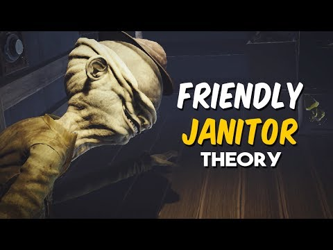 Little Nightmares | Friendly Janitor Theory