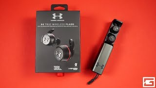 Heavy Hitters : Under Armour True Wireless Flash - Engineered By JBL