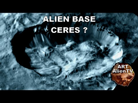 CERES: ALIEN BASE DISCOVERED ? Domes & Buildings up Close ! ArtAlienTV - 1080p60