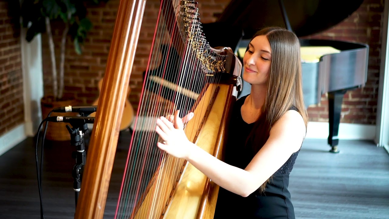 "Harpist - ""Fireflies"" 
