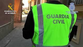 16 detenidos con cuatro toneladas de hachís en Cádiz