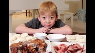 BBQ Duck and BBQ Pork Mukbang