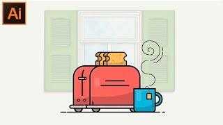 Adobe Illustrator CC Tutoriel - Comment Faire une Belle Illustration