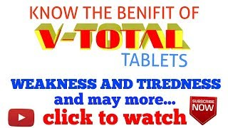 V- TOTAL CAPSULES BENIFITS II FOR GOOD HEALTH