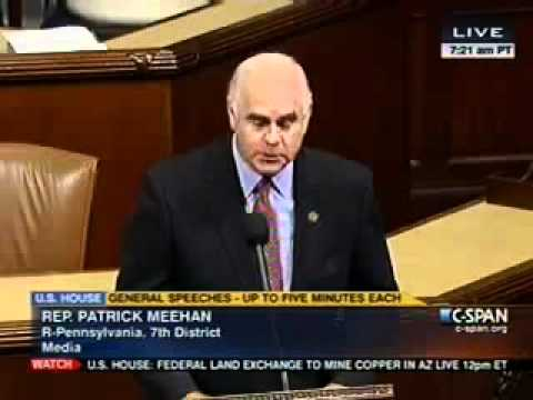Meehan speaks on the House floor about the Springfield Literacy Center