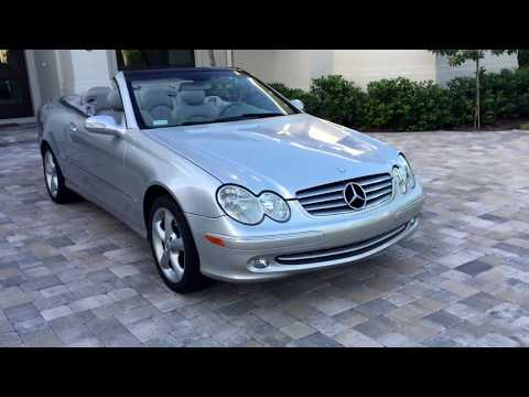 2005 Mercedes-Benz CLK320 Cabriolet for sale by Auto Europa Naples