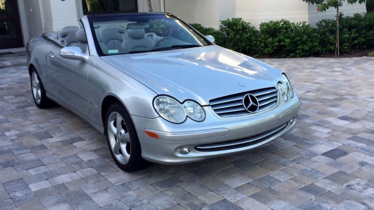 2005 Mercedes Benz Clk320 Cabriolet For By Auto Europa Naples Mercedepert You