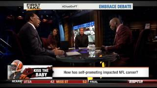 "Chad ""Ochocinco"" Johnson vs Skip Bayless and Steph"