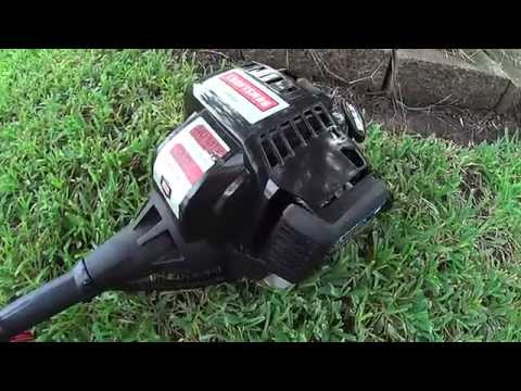 Review on Craftsman 32cc 4 cycle weedwacker model 73193 Gas