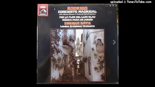 Joaquín rodrigo : concierto madrigal for two guitars and orchestra (1966) mp3