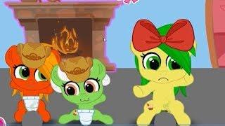 """День """"Д"""". Карманная пони.  Мультик игра для детей.  My little pony.  дружба это чудо"""