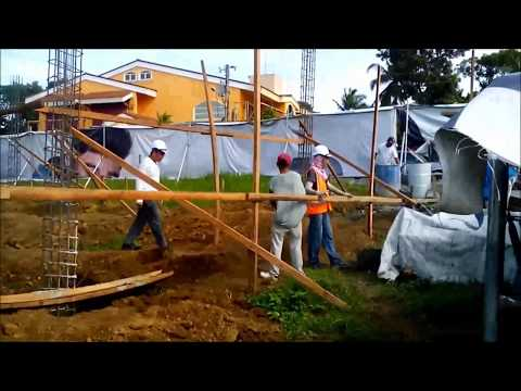 Actual Construction of Modern 2 Storey Residence