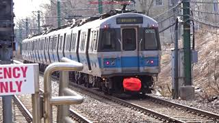 The Subway in Boston 2018 (blue line)