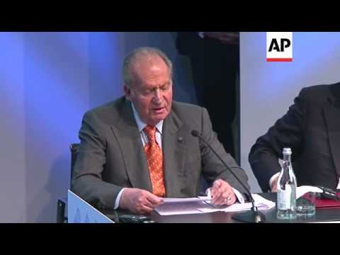King Juan Carlos meets leaders of Portugal and Spain