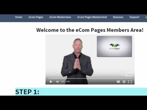 eCom  Pages Review | ecom pages bonus ***Hot Niche Research - Pick a winner every time!: Download your bonus here for eCom Pages reviewhttp://ivanabosnjak.com/ecom-pages-review/  Please feel free to subscribe to my channel.  Please do me a favor and let me know how you found this video.   Did you search for eCom pages review, or ecom pages bonus.   Thanks so much