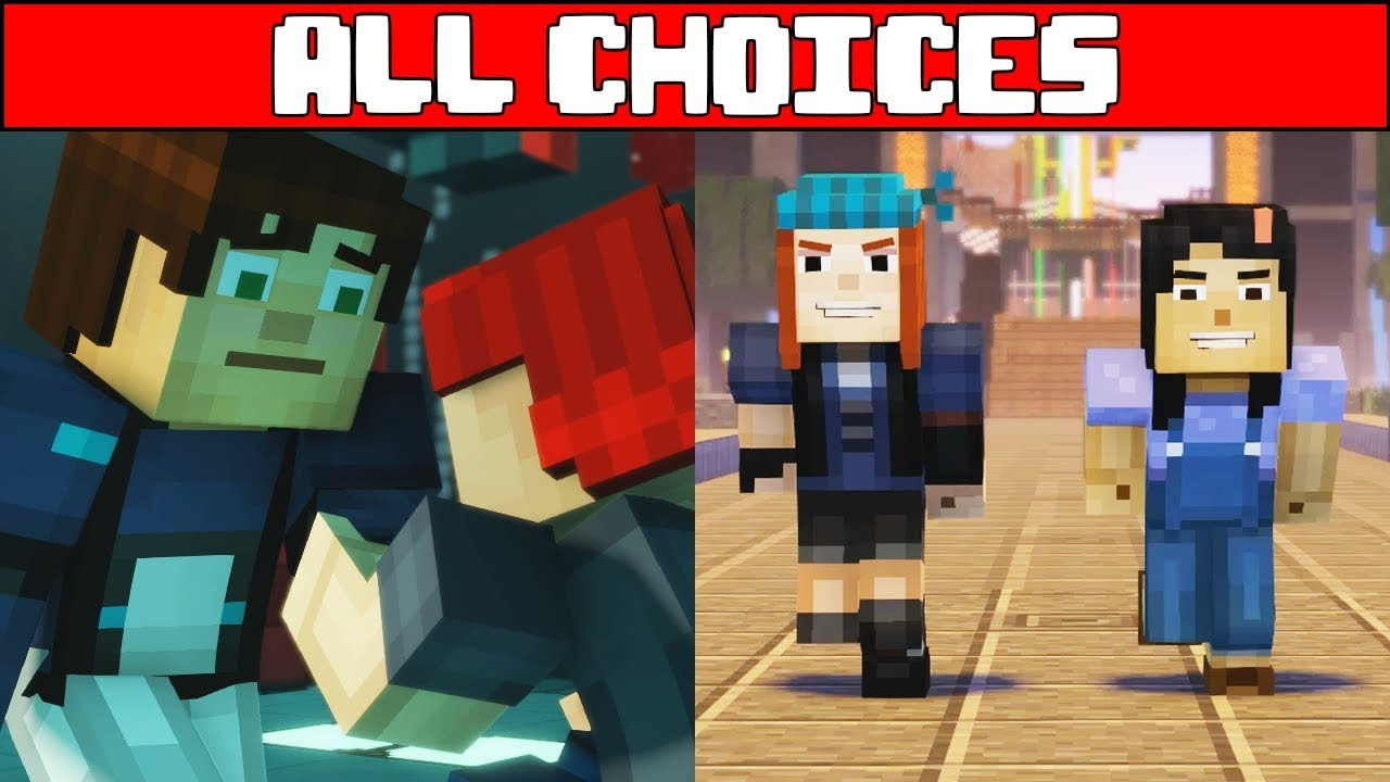 Minecraft Story Mode Season 2 Episode 5 All Choices Season Finale