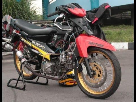 Motor Trend Modifikasi | Video Modifikasi Motor Suzuki Smash Look Racing Style Terbaru