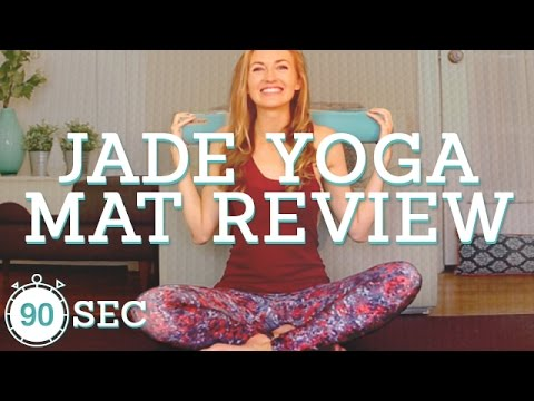 Jade Harmony Professional Yoga Mat Review | Best in Sticky Yoga Mats