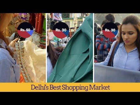 New Shopping Haul | Inderlok Market | This Is How I Shop & Make Designer Saree