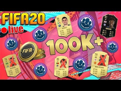 FIFA 20 TRADING TIPS HOW TO MAKE COINS on ULTIMATE TEAM LIVESTREAM