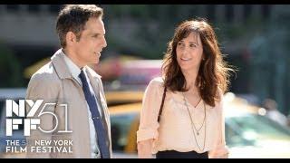 """NYFF51: """"Walter Mitty"""" Press Conference   Ben Stiller, Kristen Wiig"""