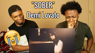 Demi Lovato - Sober (REACTION)