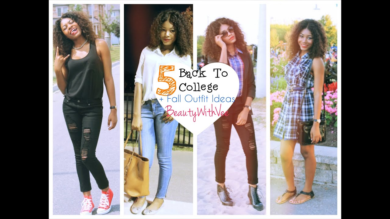 sc 1 st  YouTube & Back To College + Fall Outfit Ideas ? - YouTube