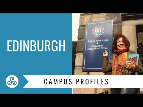 University of Edinburgh campus visit with American College Strategies