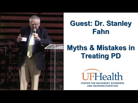 Dr. Stanley Fahn Myths and Mistakes in PD Treatment Parkinson Symposium 2016