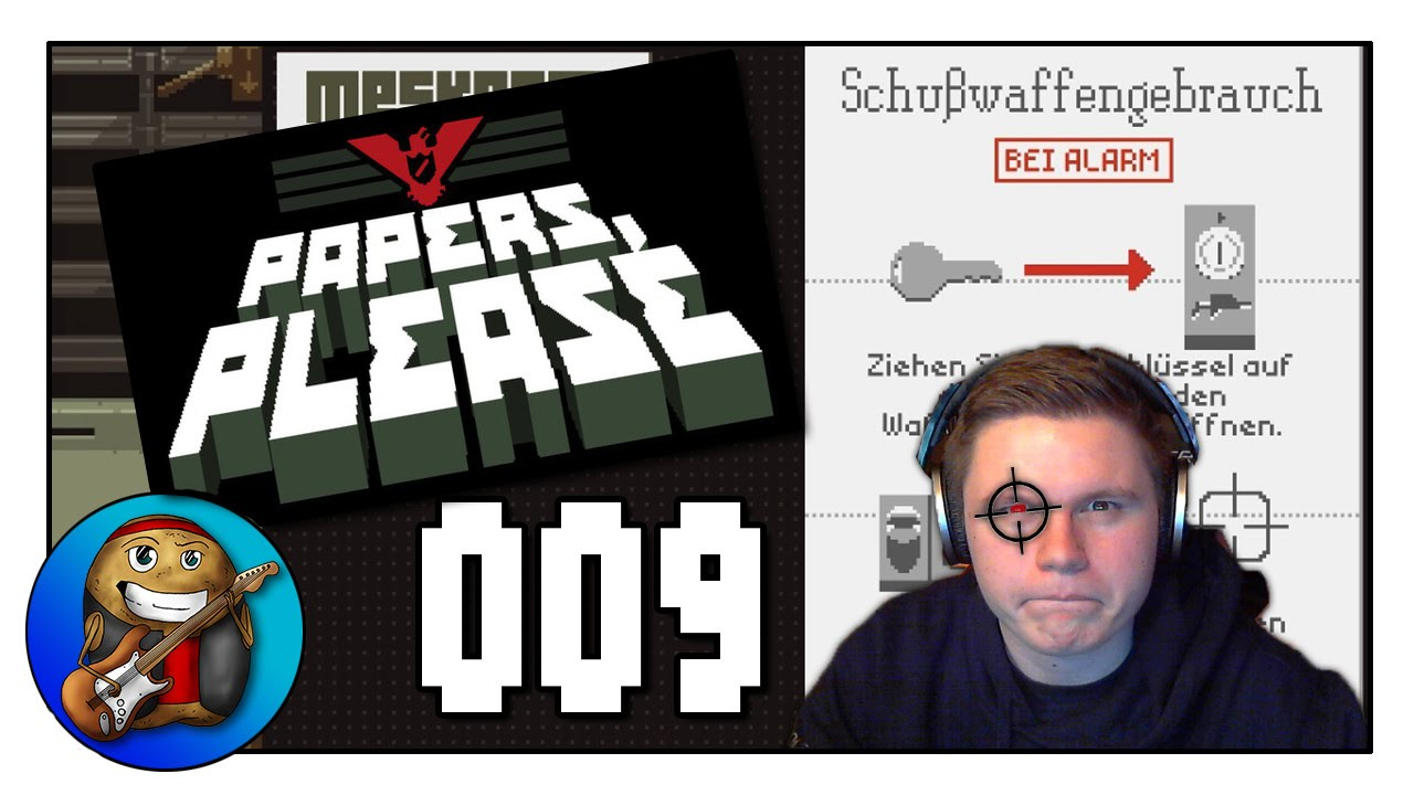 Waffenschrank ☆ Let\'s Play Papers Please #009 [GER] - YouTube