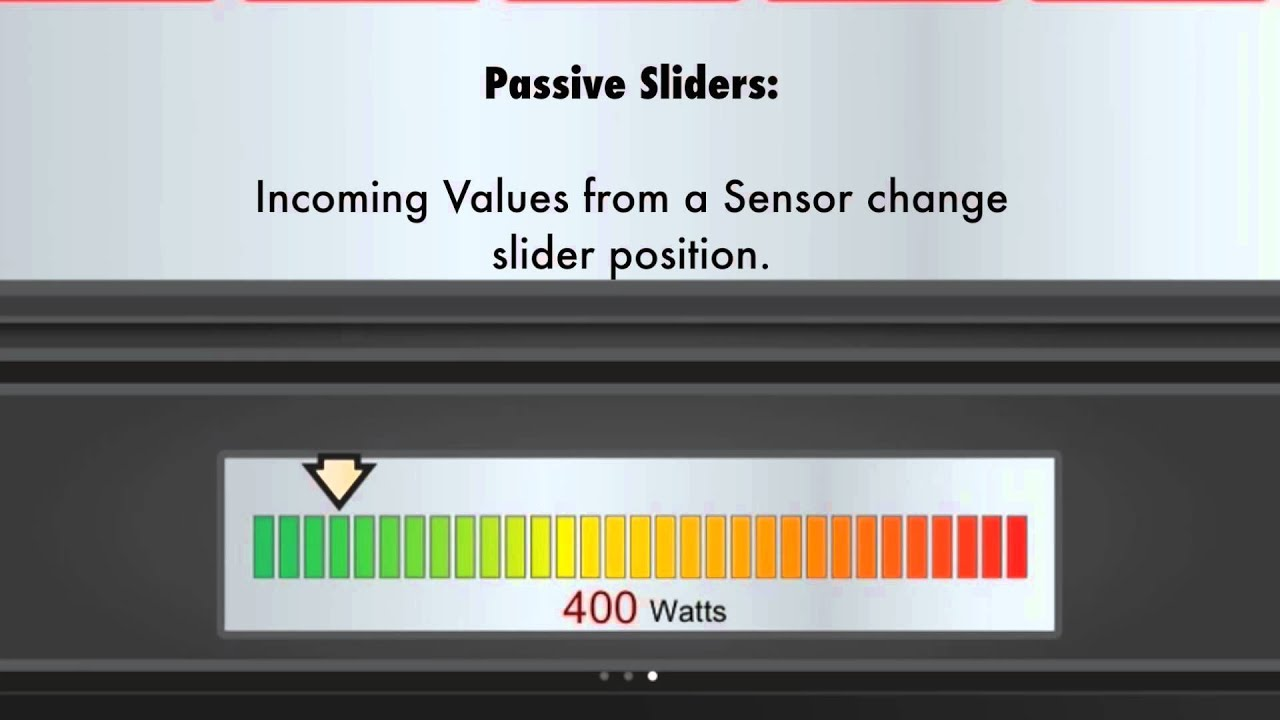 Using Slider Widgets in Your OpenRemote User Interface Design - YouTube