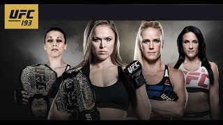 UFC 193: Extended Preview