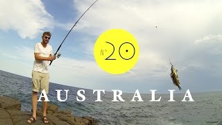 Wir sind angeln! Petri Heil. AUSTRALIEN - WORK & TRAVEL