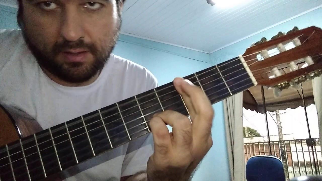 NADIE DETIENE EL AMOR EN ALGUN LUGAR - como tocar la guitarra