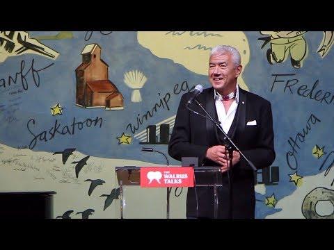 Canada is a Family   Tom Jackson   Walrus Talks