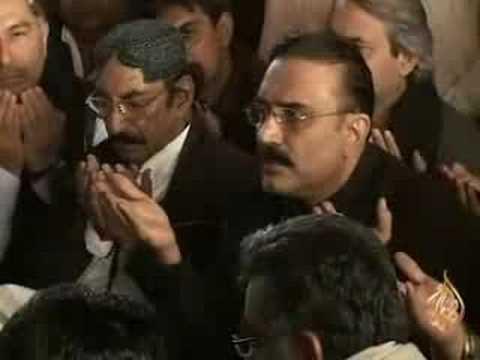فوز آصف علي زرداري برئاسة باكستان