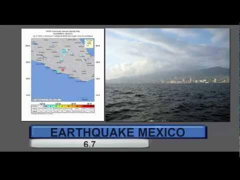 Large 6.7 Earthquake Strikes Guerrero MEXICO