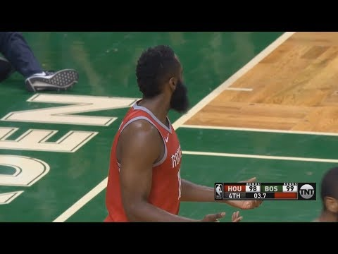James Harden Commits 2 Offensive Fouls vs. Marcus Smart - Celtics Comeback Win vs. Rockets