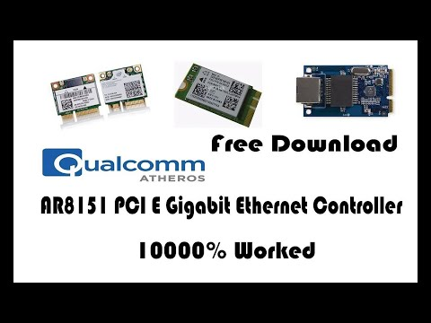 Qualcomm Atheros AR8151 PCI E Gigabit Ethernet Controller NDIS 6 20  How To Download & Installation