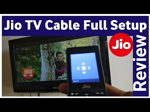 Jio Media Cable Unboxing & Review | LIVE Demonstration of Jio TV Cable