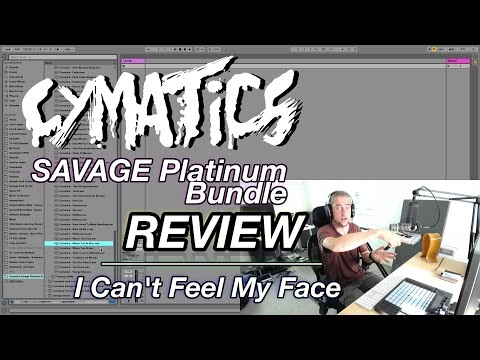 Cymatics Savage Platinum Bundle Review | I Can't Feel My Face