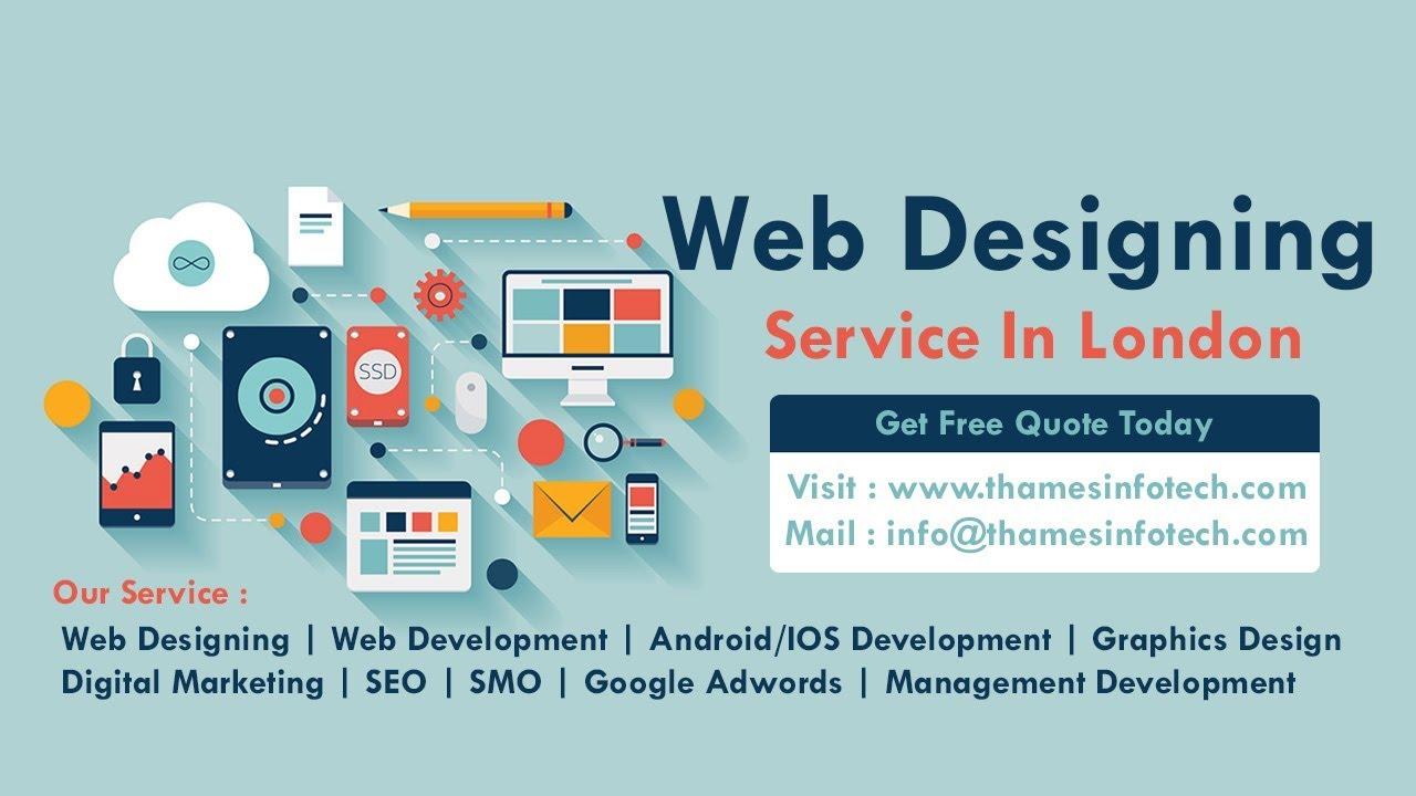 Web Design In Hayes London Web Design In Harlington London Uk Cheap Web Design Thames Infotech Youtube