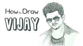 How to draw Kiran Bedi face pencil drawing step by step