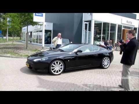 Aston Martin DB9 acceleration!