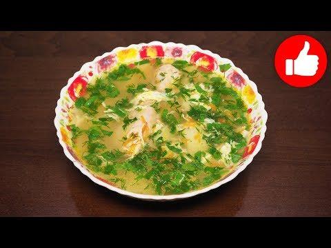 Суп куриный с вермишелью и яйцом в мультиварке