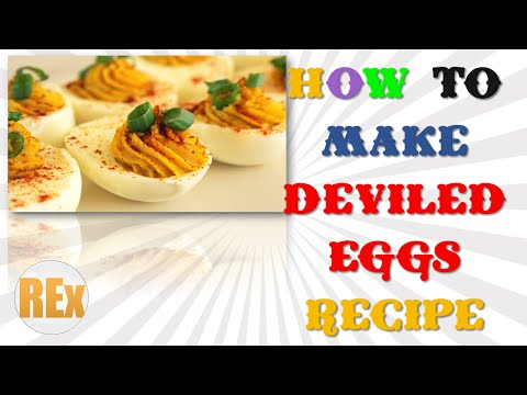 Deviled Eggs Recipe | How To Make Deviled Eggs Recipe Easy Latest Method By Recipes Expert