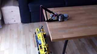 LEGO Heavy lifting crane