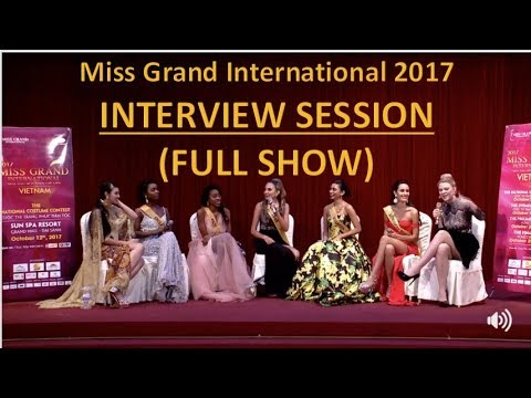 Download Miss Grand International 2017: LIVE INTERVIEW SESSION - Getting to know all the Candidates (HD)