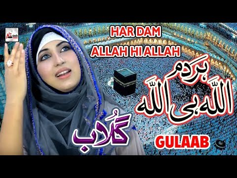 HAR DAM ALLAH HI ALLAH - GULAAB NEW PUNJABI NAAT SHARIF 2018 - HEART TOUCHING NAAT - HI-TECH ISLAMIC