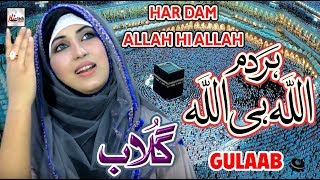 HAR DAM ALLAH HI ALLAH - GULAAB NEW PUNJABI NAAT SHARIF 2018 - HEART TOUCHING NAAT - HI-TECH ISLAMIC